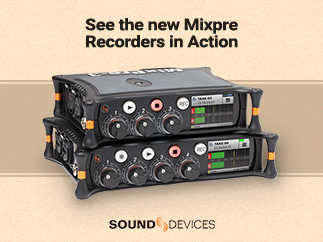 Mixpre Recorders in Action